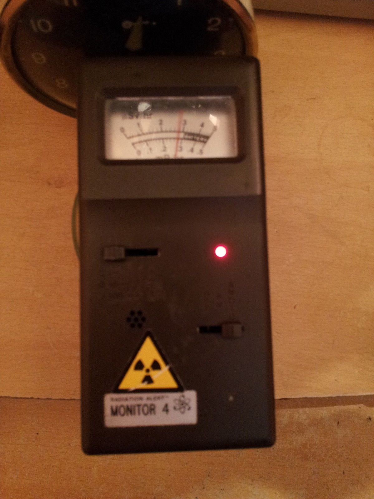 Handheld Geiger Counter Morecambe Bay Amateur Repeater Site